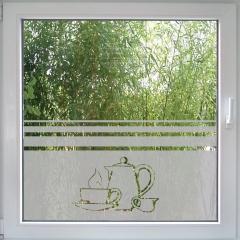Coffee or Tea Fensterfolie