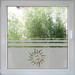 Sun - Sonnenfenster Fensterfolie