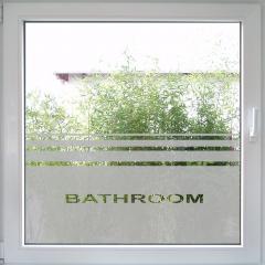 Bathroom Fenstertattoo