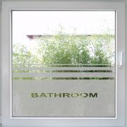 Bathroom Fenstertattoo